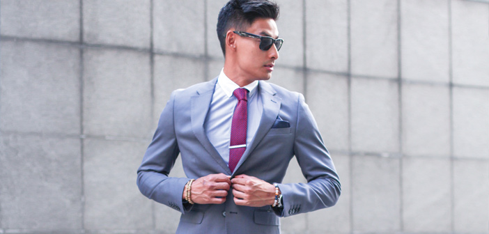 Mens Fashion Blog - Cobblestone Streets - How to wear a Grey Suit
