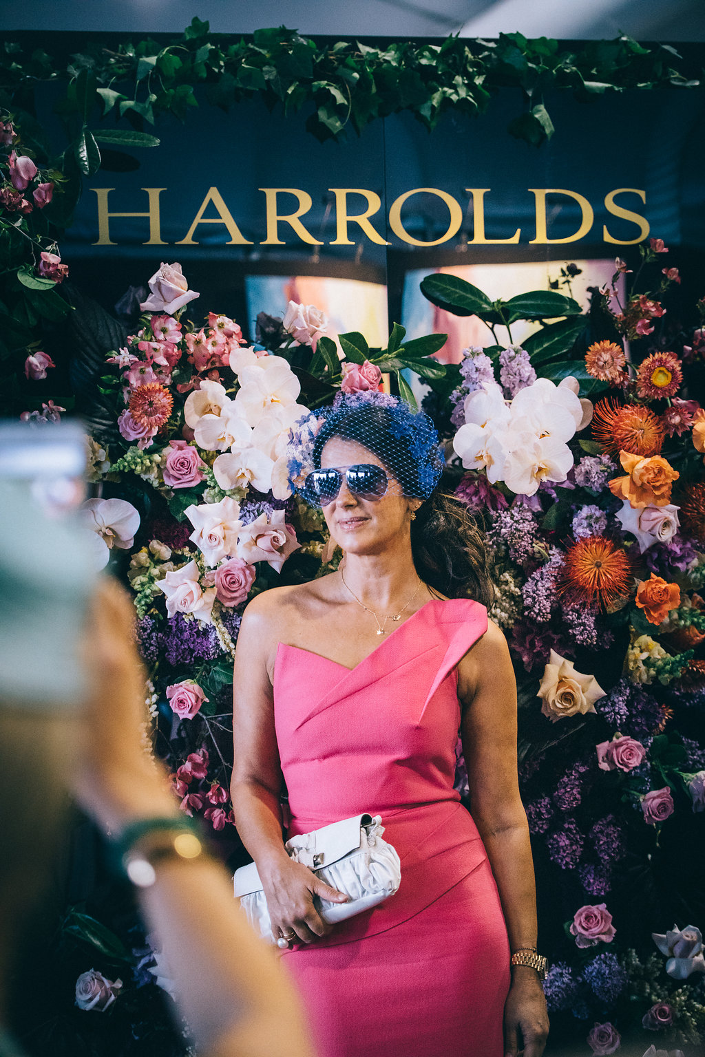 Harrolds fashion at Caulfield Cup raceday for spring racing carnival in Melbourne