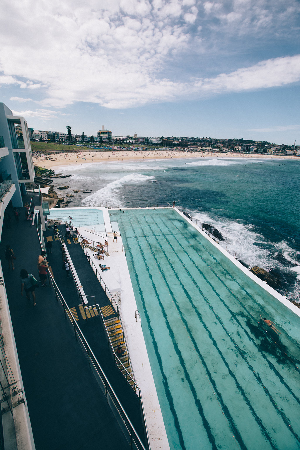 Bondi Beach Icebergs swimming pool Sydney
